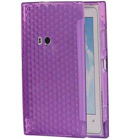 Diamand TPU cases for Lumia 920 Purple