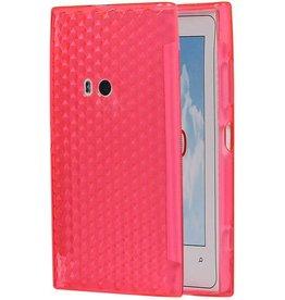 Diamand TPU Cases for Lumia 920 Pink