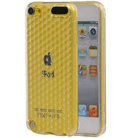 Diamand TPU Hoesjes voor iPod Touch 5 Wit