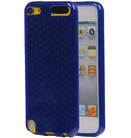Diamand TPU Hoesjes voor iPod Touch 5 Donker Blauw
