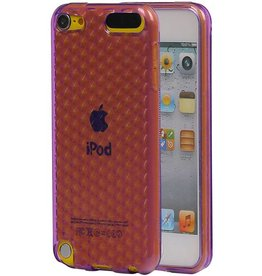 Diamand TPU Hoesjes voor iPod Touch 5 Paars
