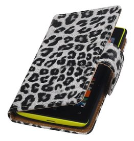 Chita-Buch-Art-Fall für Nokia Lumia 520 Weiss