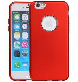Design TPU Case for iPhone 6 / 6s Red