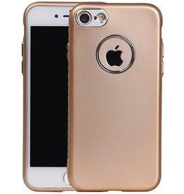 Design TPU Case for iPhone 7 Plus Gold