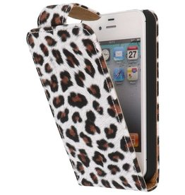 Chita Classic Flip Case for iPhone 4 Brown