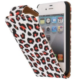 Chita Classic Flip Case for iPhone 4 Red