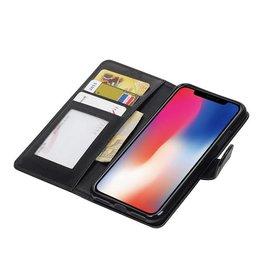 iPhone X Wallet case booktype wallet case Black