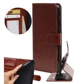 Huawei Y7 / Y7 Prime Wallet booktype wallet case Brown