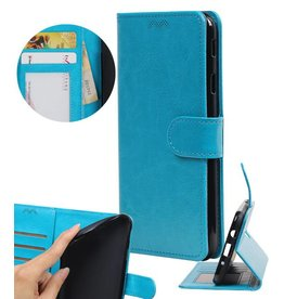 Huawei P8 Lite Wallet case booktype wallet Turquoise