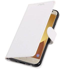Galaxy J7 2017 Wallet case booktype wallet case White