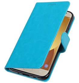 Galaxy J7 2017 Wallet case booktype wallet Turquoise