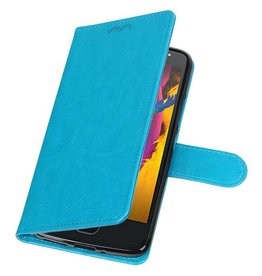 Moto G5s Wallet case booktype wallet case Turquoise