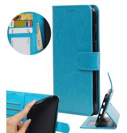 Moto E4 Plus Wallet case booktype wallet Turquoise