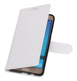 Galaxy J7 2016 Wallet case booktype wallet case White