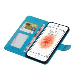 iPhone 7 Plus Wallet case booktype wallet Turquoise