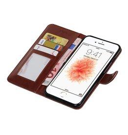 iPhone 7 Plus Wallet case booktype wallet case Brown