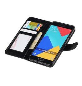 Galaxy A7 2016 Wallet case booktype wallet case Black