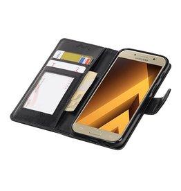 Galaxy A3 2017 Wallet case booktype wallet case Black