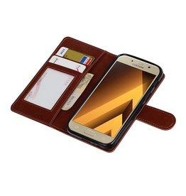 Galaxy A3 2017 Wallet case booktype wallet case Brown