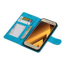 Galaxy A3 2017 Wallet case booktype wallet Turquoise