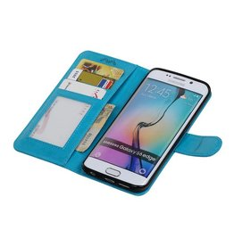 Galaxy S6 Edge Wallet case booktype wallet Turquoise
