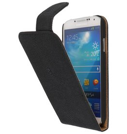 Devil Classic Flip Case for Galaxy S4 i9500 Black