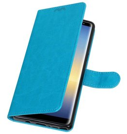 Galaxy Note 8 Wallet case booktype wallet case Turquoise