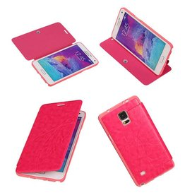 Easy Book Type Case for Galaxy Note 4 N910F Pink