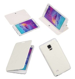 Easy Book type case for Galaxy Note 4 N910F White