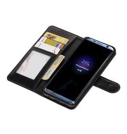 Galaxy S9 Wallet case booktype wallet case Black