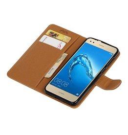 Huawei P9 Lite Mini Wallet Fall Mappenkasten Brown