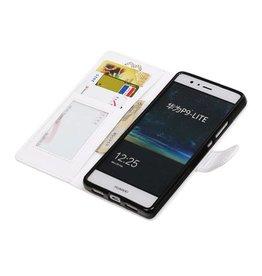 Huawei P9 Lite Mini-Mappen-Kasten-Mappen-Kasten Weiß