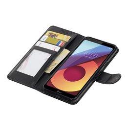 LG Q8 Wallet case booktype wallet case Black