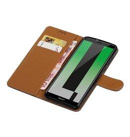 Huawei Mate-10 Pro Wallet Fall Booktype Geldbörse Schwarz