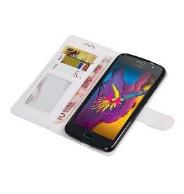 Moto G5s Wallet case booktype wallet case White
