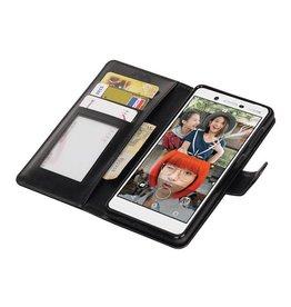 Nokia 7 Portemonnee hoesje booktype wallet case Zwart
