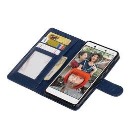 Nokia 7 Wallet case booktype wallet case Dark Blue
