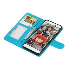 Nokia 7 Wallet case booktype wallet case Turquoise