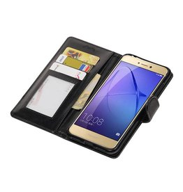 Huawei P8 Lite 2017 Wallet case booktype Black