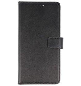 Bookstyle Wallet Cases Hoes voor Huawei P Smart Zwart