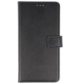 Bookstyle Wallet Cases Hoes voor Nokia 2 Zwart
