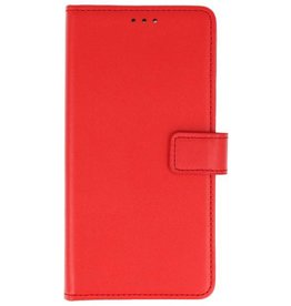 Bookstyle Wallet Cases Hoes voor Nokia 2 Rood