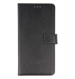 Bookstyle Wallet Cases Hoes voor Huawei P20 Zwart