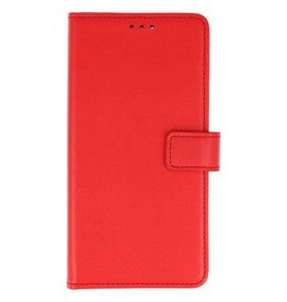Bookstyle Wallet Cases Hoes voor Nokia 6 2018 Rood