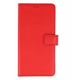 Bookstyle Wallet Hüllen für Nokia 6 2018 Rot