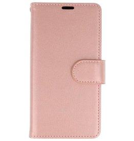 Wallet Cases Hoesje voor Huawei P20 Roze