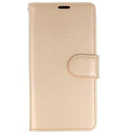Wallet Cases Hoesje voor Huawei P20 Pro Goud