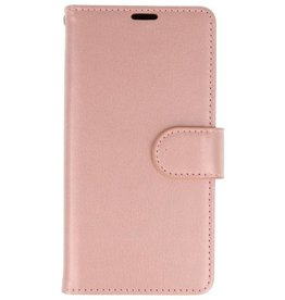 Wallet Cases Hoesje voor Huawei Honor 9 Lite Roze