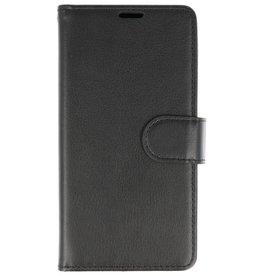 Wallet Cases Hoesje voor Huawei Honor 7X Zwart