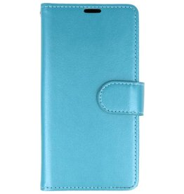 Wallet Cases Hoesje voor Huawei Honor 7X Turquoise